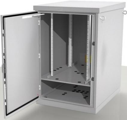 Шкаф напольный 24U ЦМО ШТВ-1-24.8.10-4ААА 800x1000mm серый