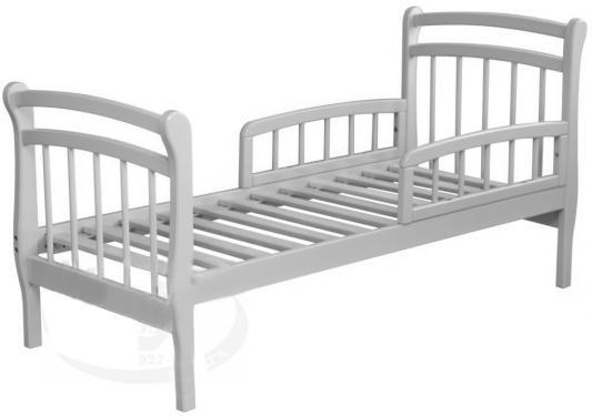 Кровать подростковая Красная Звезда Арсений (белый)