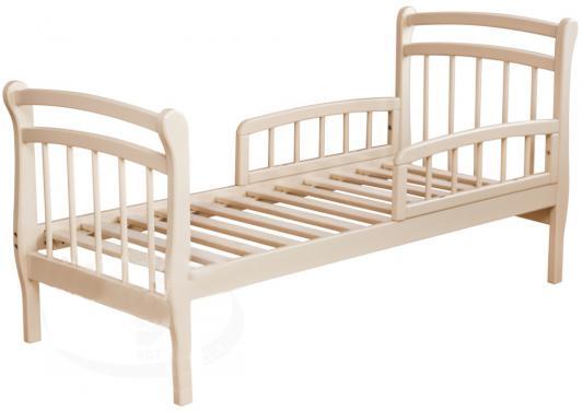 Кровать подростковая Красная Звезда Арсений (слоновая кость)