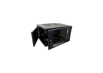 Шкаф настенный 6U Lanmaster TWT-CBWNG-6U-6X6-BK 550x600mm черный 60кг айфон 6