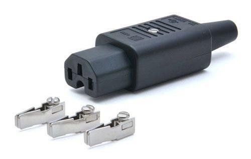 Вилка Lanmaster C13 LAN-IEC-320-C13