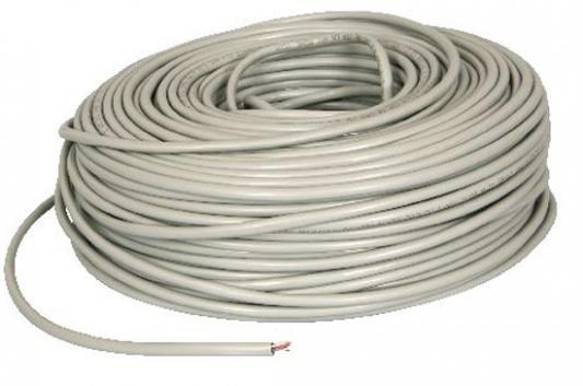 Кабель U/UTP indoor 4 пары категория 5e SUPRLAN Standard одножильный 4x2xAWG24 100% медь PVC 100м 01-0332