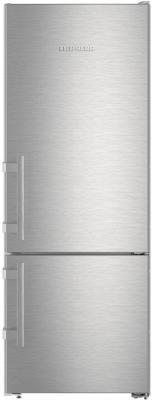 Холодильник Liebherr CUef 2915-20 серебристый холодильник liebherr cufr 3311 двухкамерный красный