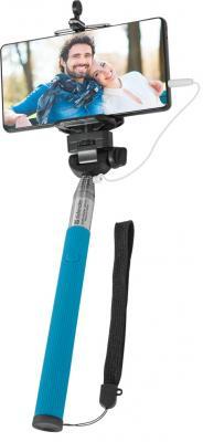Монопод Defender Selfie Stick SM-02 синий 29404 монопод defender selfie stick sm 02 синий 29404