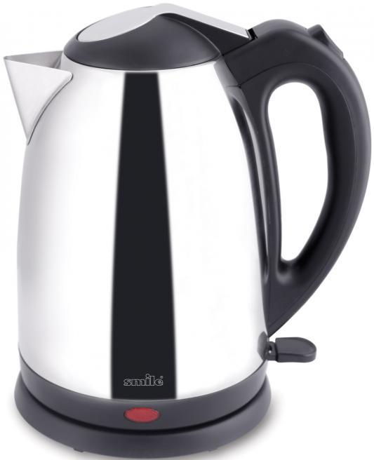 Чайник Smile WK 5207 1500 Вт серебристый 1.7 л нержавеющая сталь чайник smile wk 5414