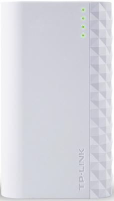 Портативное зарядное устройство TP-LINK TL-PB5200 5200мАч microUSB белый внешний аккумулятор для портативных устройств tp link tl pb5200 tl pb5200