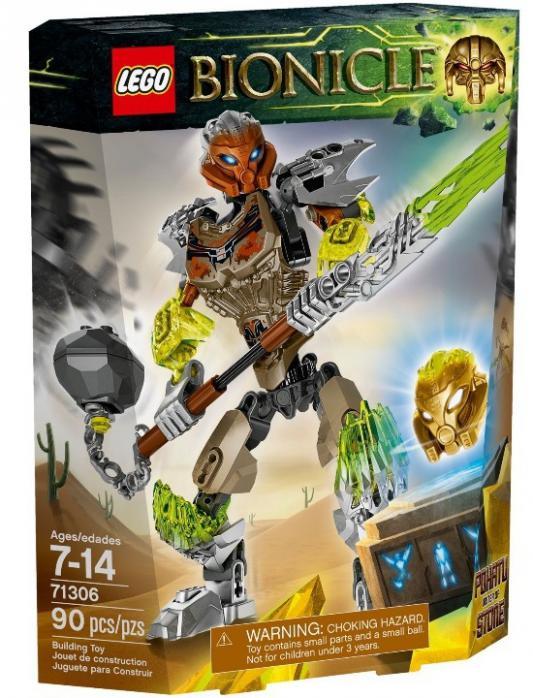 Конструктор Lego Bionicle Похату - Объединитель Камня 90 элементов 71306