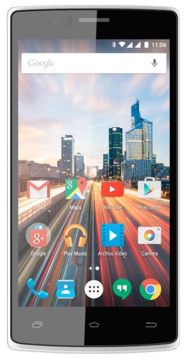 """Смартфон ARCHOS 50d Helium черный 5"""" 8 Гб LTE Wi-Fi GPS"""