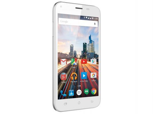 "Смартфон ARCHOS 50 Helium Plus белый 5"" 8 Гб LTE Wi-Fi GPS"