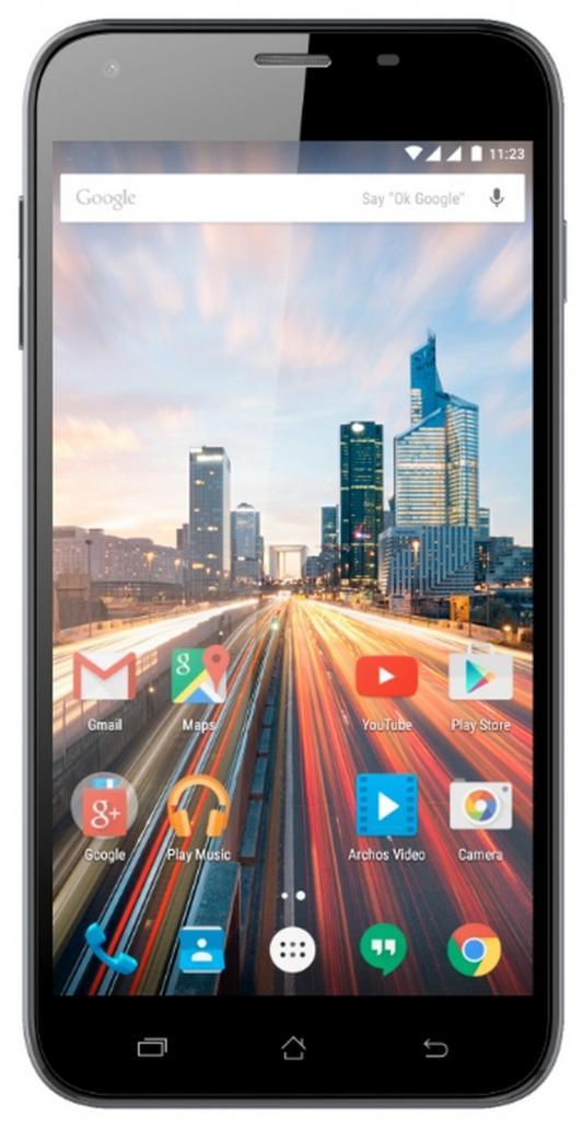 "Смартфон ARCHOS 55 Helium Plus черный 5.5"" 8 Гб LTE Wi-Fi GPS 3G 690590029903"