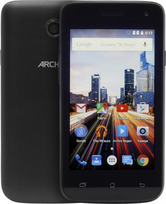 Смартфон ARCHOS 40 Helium 4G черный 4 8 Гб Wi-Fi GPS 3G LTE 503040 смартфон micromax q334 canvas magnus черный 5 4 гб wi fi gps 3g