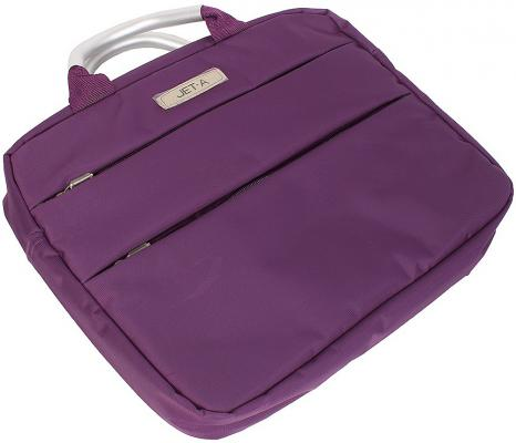 """Сумка для ноутбука 13.3"""" Jet.A LB13-04 полиэстер фиолетовый"""
