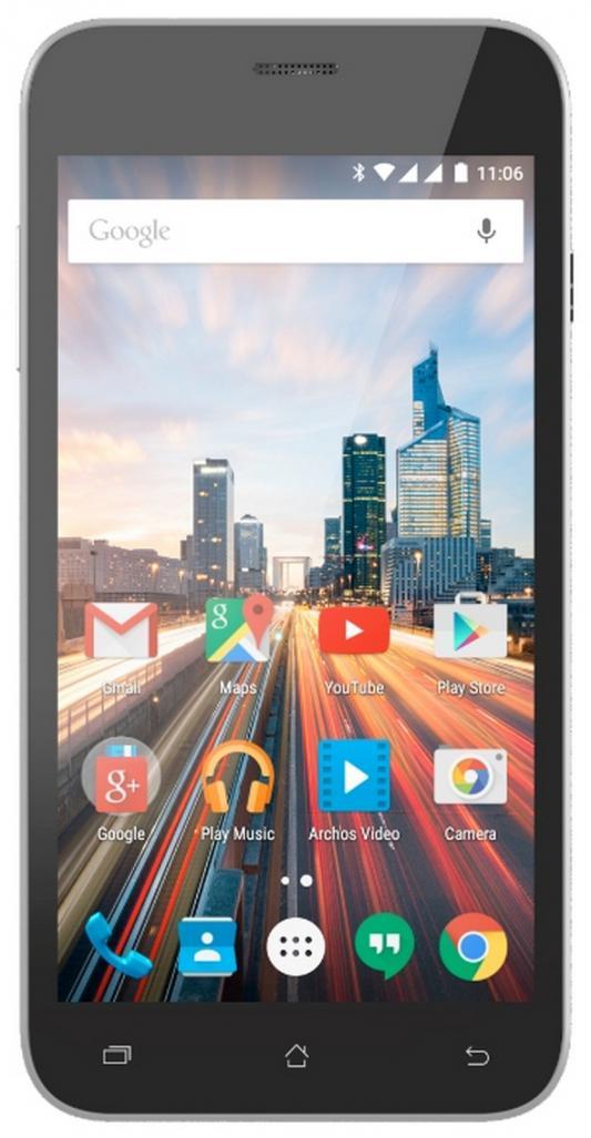 """Смартфон ARCHOS 50 Helium Plus черный 5"""" 8 Гб LTE Wi-Fi GPS"""