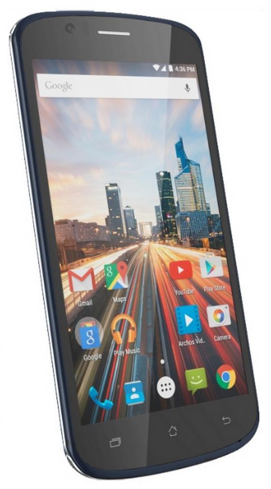 "Смартфон ARCHOS 50e Helium черный 5"" 8 Гб LTE Wi-Fi GPS"