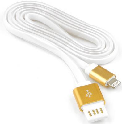 Кабель Lightning 1м Cablexpert плоский CC-ApUSBgd1m