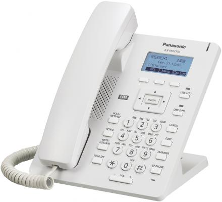 Телефон IP Panasonic KX-HDV100RU белый телефон ip panasonic kx nt553ru белый
