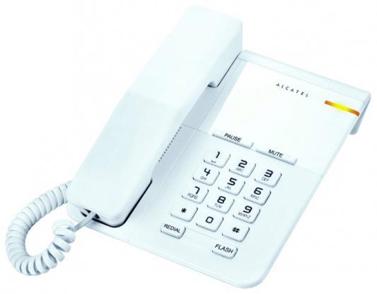 Телефон проводной Alcatel T22 белый