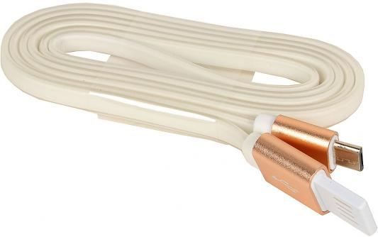 Кабель microUSB 1м Cablexpert плоский CC-mUSBgd1m