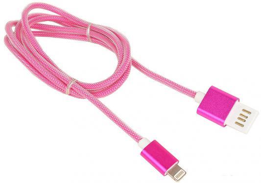 Кабель Gembird USB2.0 AM-Lightning 8P розовый металлик 1м CCB-ApUSBr1m