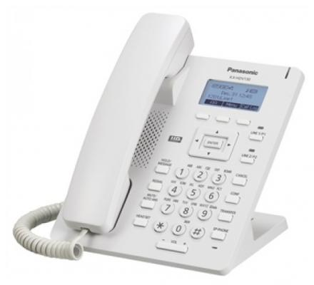 Телефон IP Panasonic KX-HDV130RU белый телефон ip panasonic kx nt553ru белый