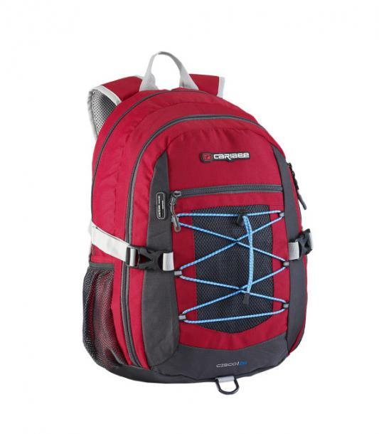 Рюкзак с анатомической спинкой CARIBEE Cisco 30 л красный 64263 рюкзак с анатомической спинкой caribee x trek 28 28 л синий желтый 63821