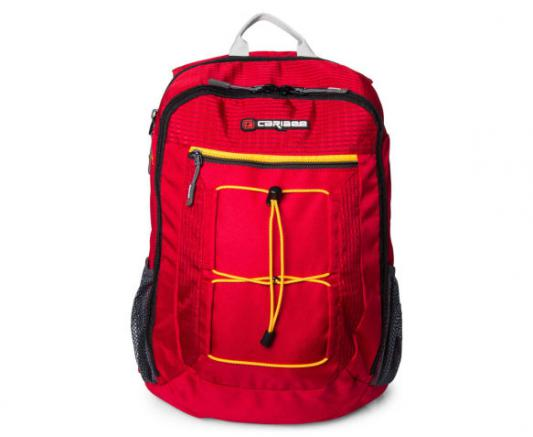 Рюкзак с отделением для ноутбука Caribee Flip Back 26 л красный 64511 рюкзак с отделением для ноутбука hama all out louth forest check 26 л зеленый серый 00129219