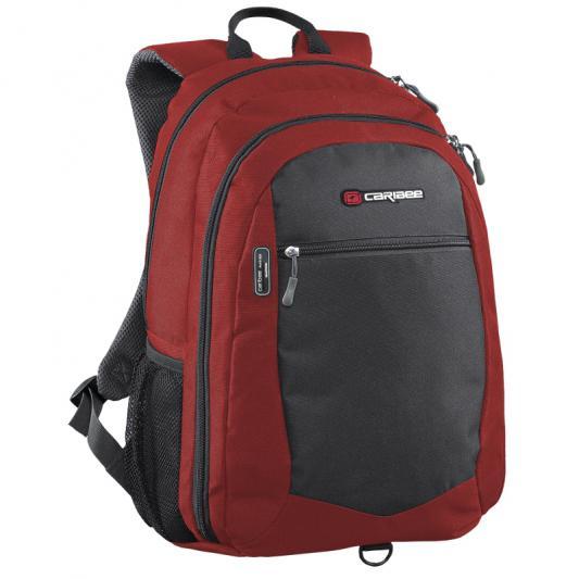 Рюкзак с отделением для ноутбука Caribee Data Pack 30 л красный серый 64332