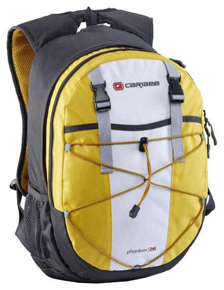 Рюкзак с анатомической спинкой Caribee Phantom 26 л серый желтый рюкзак с анатомической спинкой caribee x trek 28 28 л синий желтый 63821