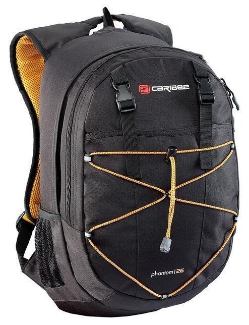 Рюкзак с анатомической спинкой Caribee Phantom 26 л черный 6102 рюкзак с анатомической спинкой caribee x trek 28 28 л черный оранжевый 6382