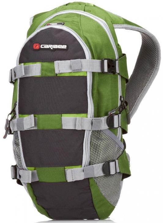 Рюкзак с анатомической спинкой CARIBEE STRATOS XL 18 л зеленый 61012 рюкзак с анатомической спинкой caribee x trek 28 28 л синий желтый 63821