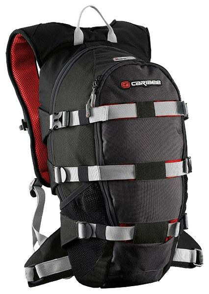 Рюкзак с анатомической спинкой Caribee Stratos XL 18 л черный 6101 рюкзак с анатомической спинкой caribee x trek 28 28 л черный оранжевый 6382