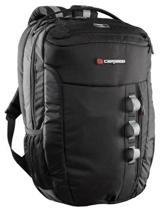 Рюкзак с анатомической спинкой Caribee Exec 22 л черный 6676