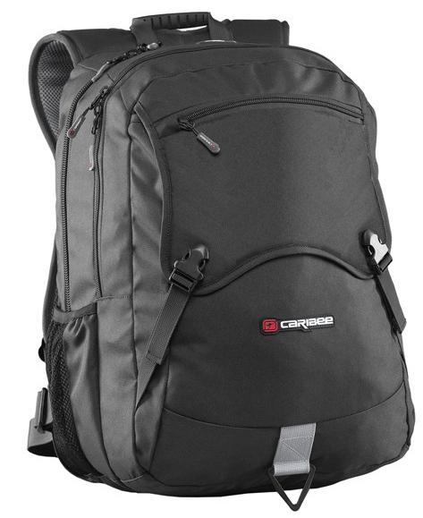 Рюкзак с анатомической спинкой CARIBEE Yukon 32 л черный 6373