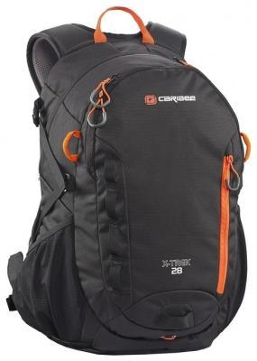 Рюкзак с анатомической спинкой Caribee X-trek 28 28 л черный оранжевый 6382 рюкзак с анатомической спинкой caribee x trek 28 28 л черный оранжевый 6382