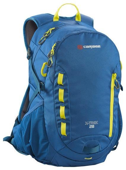 Рюкзак с анатомической спинкой Caribee X-trek 28 28 л синий желтый 63821