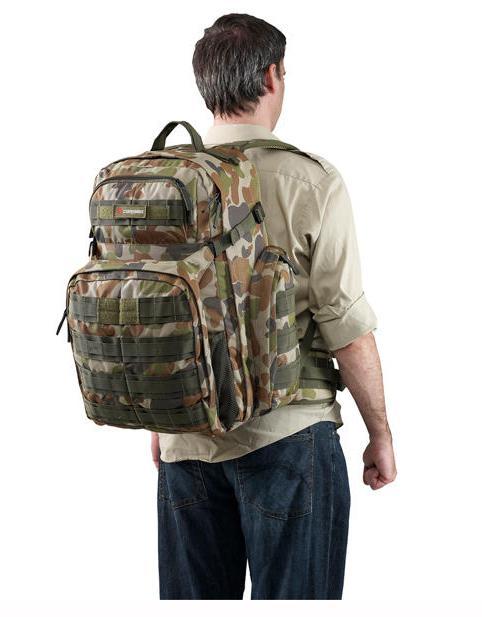 Рюкзак ортопедический Caribee Op's Pack 50 л разноцветный 64351 от 123.ru