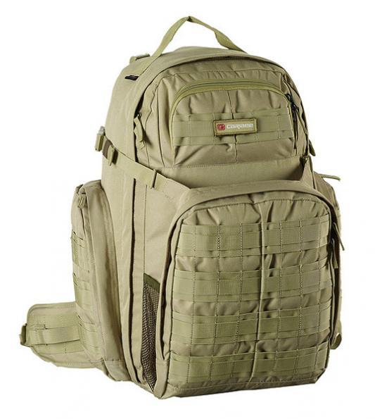 Рюкзак ортопедический Caribee Op's Pack 50 л зеленый 64352