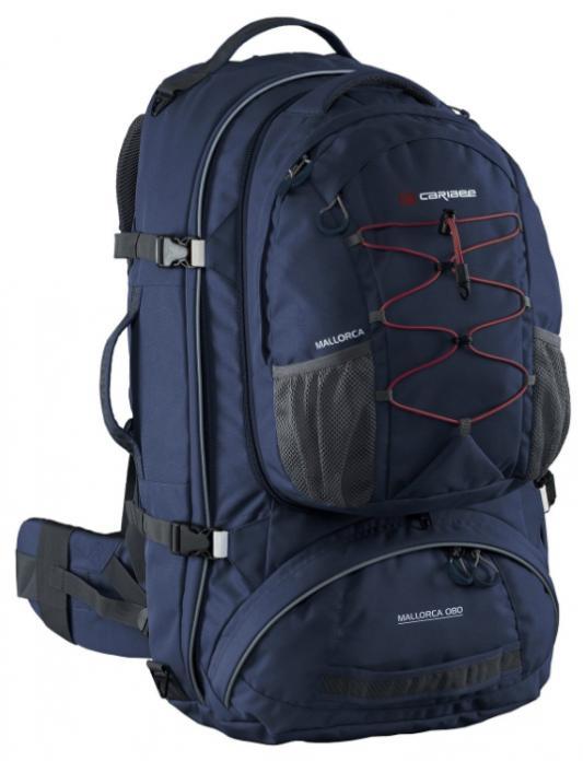 Рюкзак с анатомической спинкой CARIBEE Mallorca 70 70 л синий рюкзак с анатомической спинкой caribee x trek 28 28 л синий желтый 63821