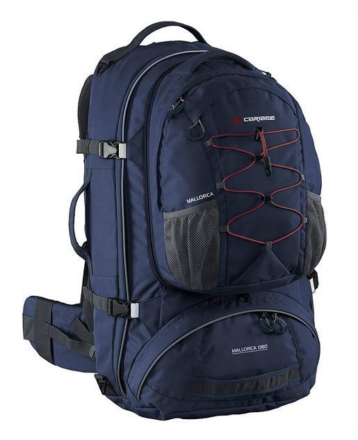 Рюкзак с анатомической спинкой Caribee Mallorca 70 л синий 69361 рюкзак с анатомической спинкой caribee x trek 28 28 л синий желтый 63821