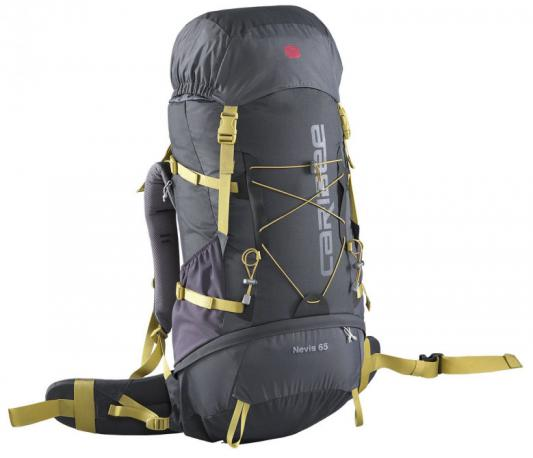 Рюкзак с анатомической спинкой Caribee Nevis 65 л серый 6608