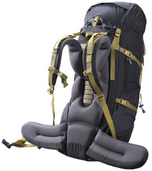 Рюкзак с анатомической спинкой Caribee Nevis 65 л серый 6608 от 123.ru