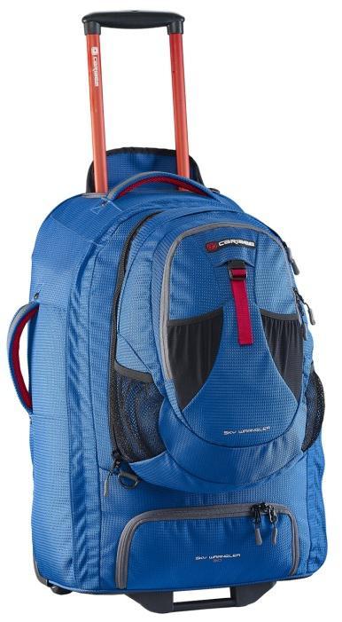Рюкзак на колесах Caribee Europa 60 л голубой 6824 цена