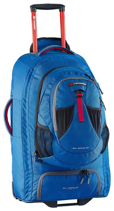 Рюкзак на колесах Caribee Europa 75 75 л голубой 6826 рюкзак caribee comet 32 л бордовый