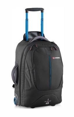 Рюкзак на колесах CARIBEE Sky Master 45 л черный 6917 цена