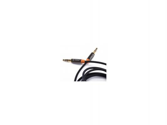 Кабель соединительный 1м Zetton ZTLSAUX1FB 3.5 Jack - 3.5 Jack черный
