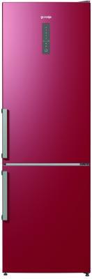 Холодильник Gorenje NRK6192MR красный двухкамерный холодильник gorenje nrk 6192 mr