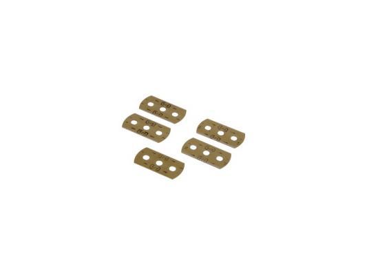 Лезвия для скребка H-110753/H-110702 Xavax нержавеющая сталь 5шт 00110726