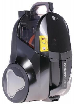 Пылесос LG V-K75W01H сухая уборка серый
