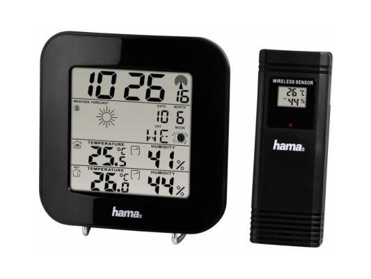 Метеостанция Hama 136222 EWS-200 черный