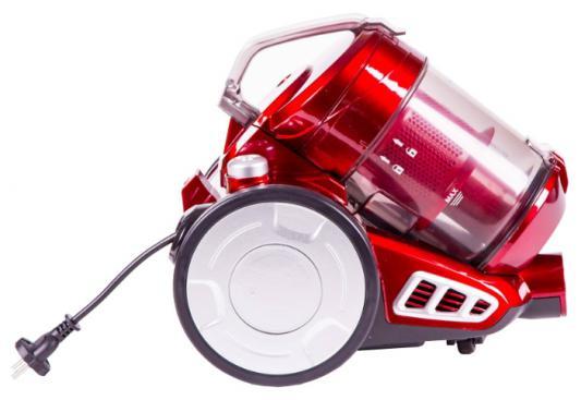 Пылесос Shivaki SVC-1764R без мешка сухая уборка 1600Вт красный